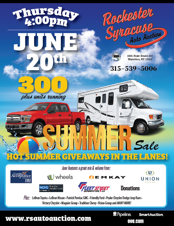 Car Auctions Ny >> Rochester Syracuse Auto Auction