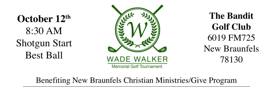 W Walker Memorial Golf Tournament