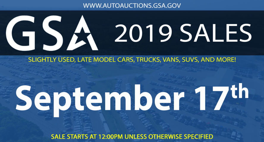 GSA Fleet Sale