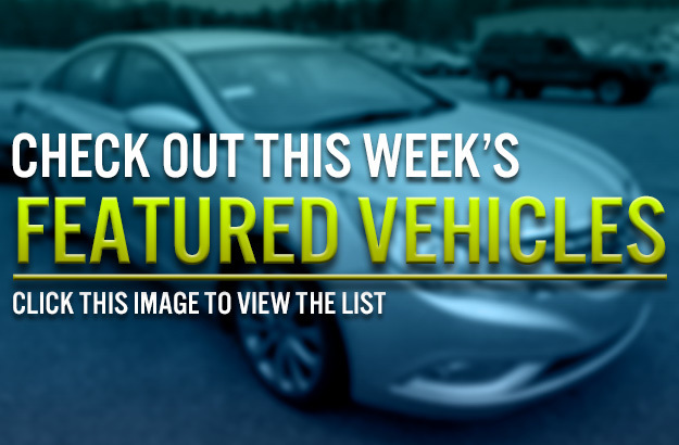 Ocean State Auto Auction Weekly Featured Vehicles