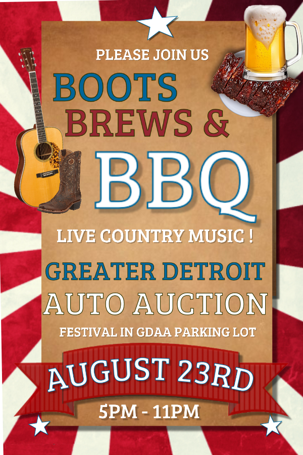 Greater Detroit Auto Auction >> Special Events Greater Detroit Auto Auction