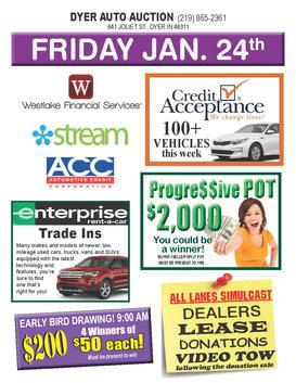 Indiana Public Auto Auction >> Dyer Auto Auction