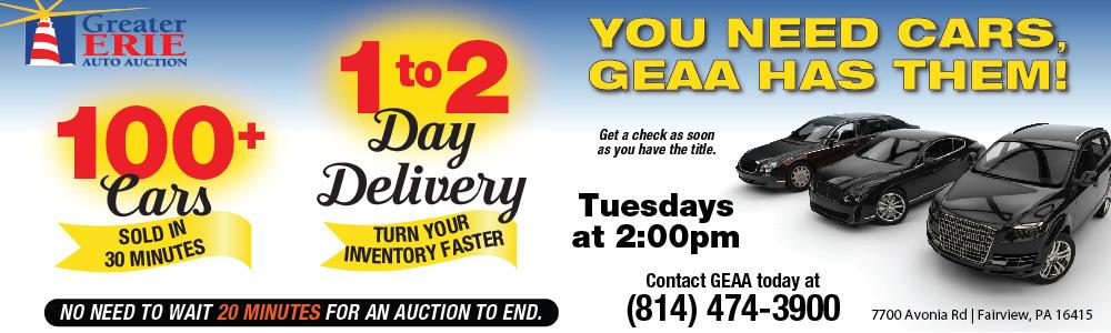 Auto Auction Pa >> Greater Erie Auto Auction